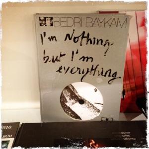I'm nothing but I'm everything. Heavy. I like it.