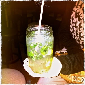 This might be the biggest mojito I've ever seen