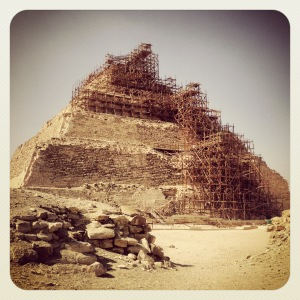 The Pyramids of Saqqara. Breathtaking.
