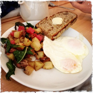 Roast duck hash. This smelled divine!